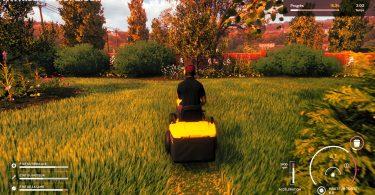 Lawn Mowing Simulator JEU